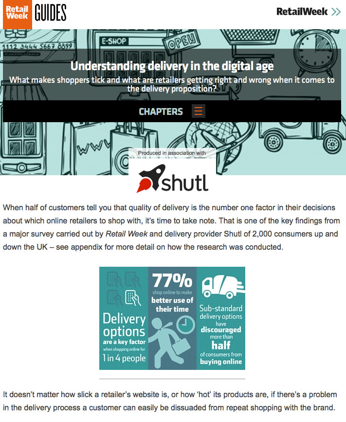 Understanding delivery in the digital age