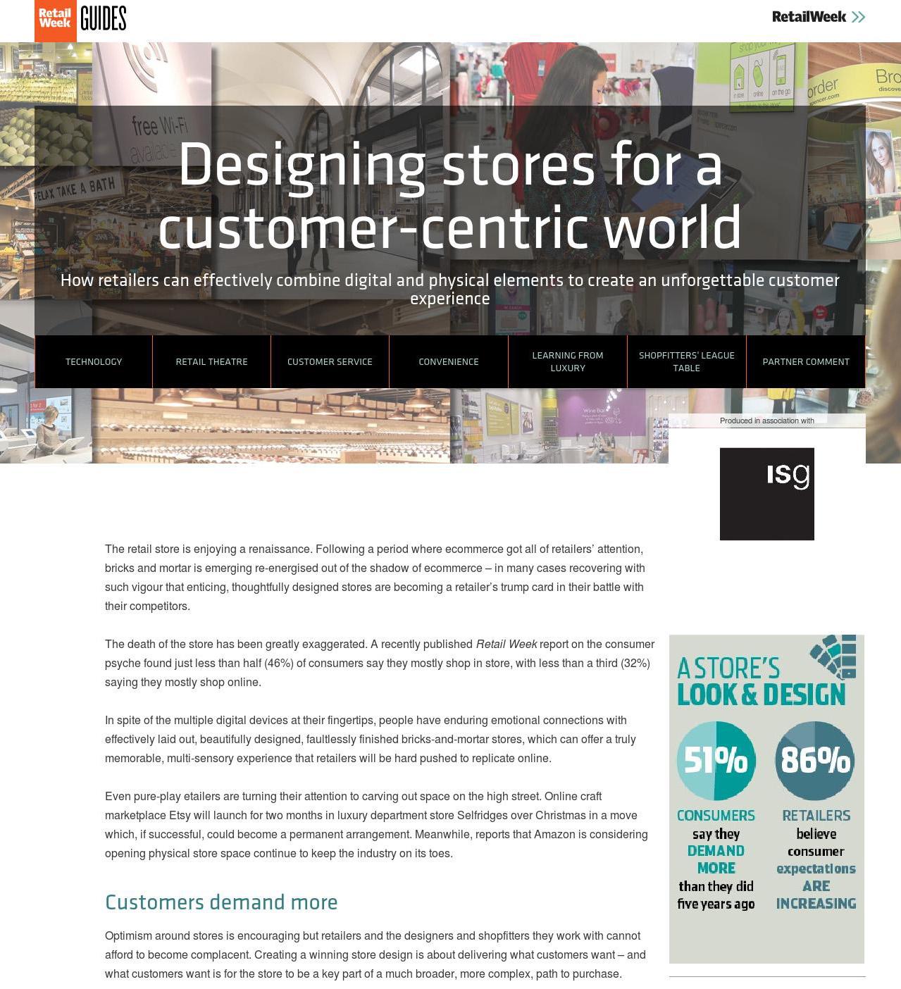 Designing stores