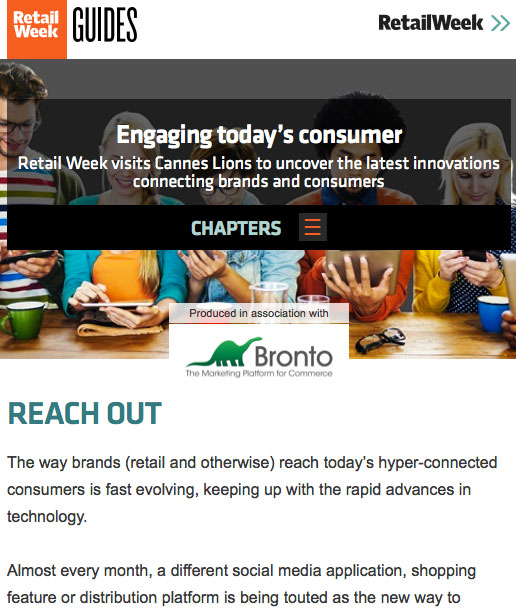 Engaging today's consumer