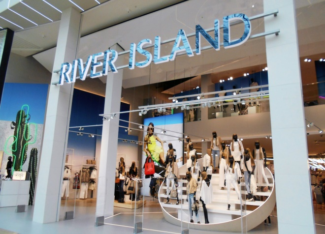 mainstream fashion retailer river island has been investing in