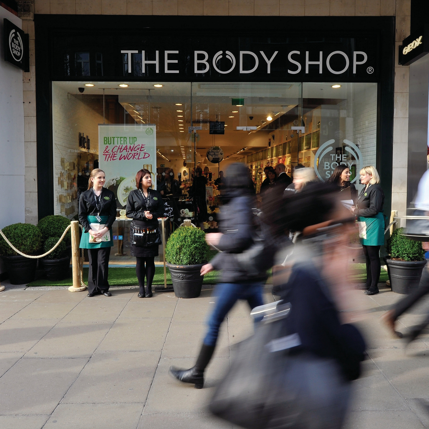 the body shop oxf