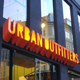 Urban outfitter most traded option