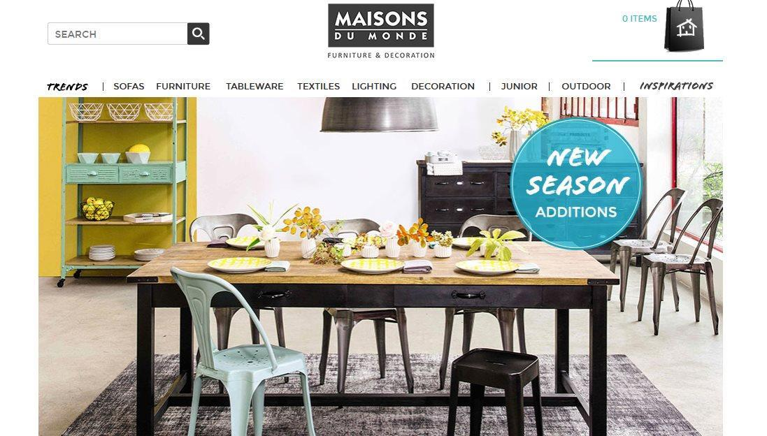 maison du monde reduction latest reduced price as need gone as soon as possible with maison du. Black Bedroom Furniture Sets. Home Design Ideas