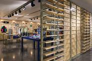 Puma Select's Johannesburg store uses adapted and repurposed store design principals to create an innovative and flexible visual design.