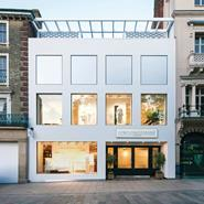 Painting the frontage of The White Company\'s Norwich store a brilliant white gives the clothing and homewares retailer real standout: this is a store that will not be ignored.