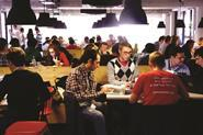 Many hackathons focus on a specific challenge such as creating an app