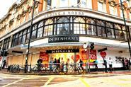 The department store chain posted a rise in profits