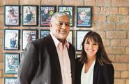Carol Kane and Mahmud Kamani, co-founders, Boohoo