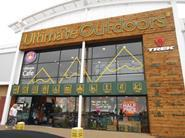 Ultimate Outdoors is a shop on British Land's Deepdale Shopping Park, on the outskirts of Preston.