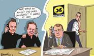 Retail Week\'s cartoonist Patrick Blower\'s take on prospective candidates to take over Dalton Philips' role at Morrisons.