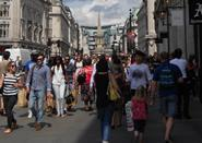 Clothing sales picked up following the hot weather