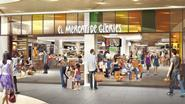 Fresh! launches this month at Les Glòries shopping centre in Barcelona. El Mercat de Glòries is part of the mall's refurbishment. It draws inspiration from traditional Catalan markets.