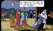 Retail Week's cartoonist Patrick Blower's take on Yodel suspending collections in the lead-up to Christmas following Black Friday demand.