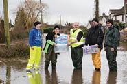 Asda offered assistance to flood-hit communities.