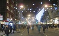 Oxford St christmas lights 2014