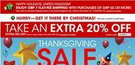 Macy\'s is offering UK shoppers a 20% Black Friday discount