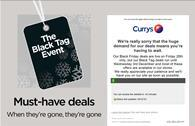 Currys struggled to cope with the surge in traffic last Black Friday