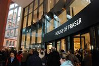 House of Fraser will be collaborating with Caffe Nero, launching its click-and-collect service in a coffee shop in Cambridge.