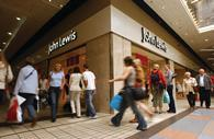 Sales at John Lewis grew 10.8% in the week to December 6th year on year, as shoppers continued to gear up for Christmas.