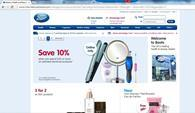 Boots has launched its European website as it aims to grab sales from British Boots fans located overseas.
