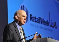 Business Secretary Vince Cable highlighted the significant potential of online and international growth to the retail sector today as he called retail a bellweather to the economy.