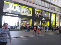 JD Sports\' new flagship store on Oxford Street