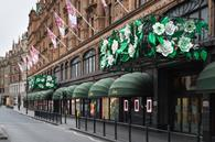 Harrods has launched a floral takeover of its store to celebrate the arrival of summer