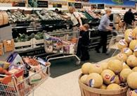 Prices of food and non-alcoholic drinks fell by 1.1% in August