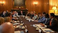 Grocery bosses meet with David Cameron