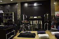 Pretty Green\'s concession in a House of Fraser store