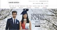 David Jones website