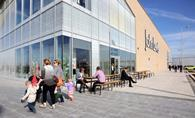 Waitrose and John Lewis sales jumped last week as shoppers started preparations for the Easter bank holiday weekend .