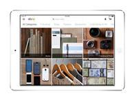 Ebay has launched an iPad app aimed at inspiring shoppers doing their Christmas shopping