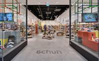 Schuh as real-time visibility of all its stock across the company