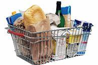 Grocery prices dipped 1% in July compared to the previous month as an average shopping basket became £5 cheaper than it was a year ago.