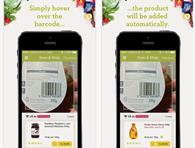Ocado\'s Scan and Shop app lets customers scan barcodes at home to add products to their basket