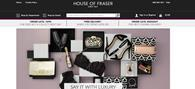 House of Fraser has designed its new website with touch screens in mind