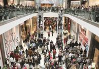 Footfall at shopping centres, retail parks and high streets is forecast to surge 4.7% over the Easter weekend