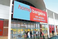 Home Bargains said sales were driven by new store openings as well as like-for-like growth