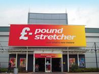 Poundstretcher full year like-for-like sales jumped 3 per cent last year driven by its store refresh programme and extended food and toiletry ranges.