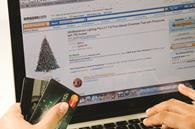 Shoppers will spend one pound in four online this Christmas, research finds