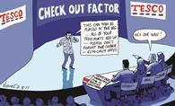 Tesco has recast its self-service checkout voice