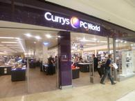 Currys PC World Bluewater, fascia