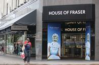 House of Fraser said menswear performed strongly during the first half