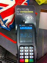 M&S processes 230,000 contactless transactions per week