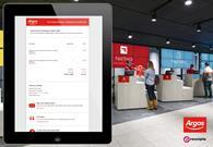 Argos now offers digital receipts in all its stores