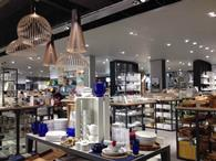 John Lewis said warm weather and its new store in York (pictured) propelled sales growth last week.