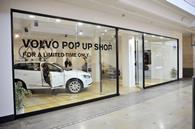 Volvo\'s pop-up store at Bluewater