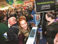 Shoppers flocked to Asda stores in search of a bargain on Black Friday