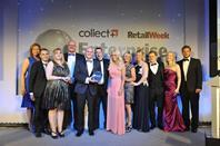 Better Bathrooms won the Collect+ Retailer of the Year, a company that originally operated from the founder's bedroom it now operates from stores and online and has ambitious expansion plans.